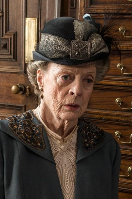 Maggie Smith as Violet, Dowager Countess of Grantham (Courtesy of Nick Briggs/Carnival Film & Television Limited for MAPBSTERPIECE)