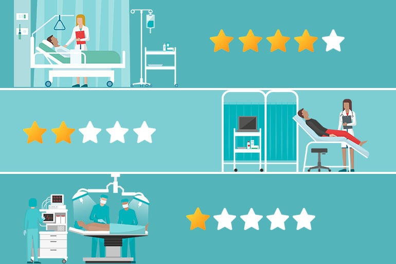 Many Well-Known Hospitals Fall Short of 5 Stars In