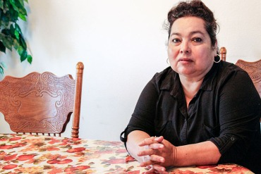 Carmen Anguiano, 60, in her home in Salinas, Calif. on July 22, 2016. She worries that her monthly premium for next year might put more financial pressure on her family. She lives in the three-county region that will see the highest average premium increase in 2017. (Ana Ibarra/CHL)