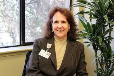 Laura Zehm, the Chief Financial Officer at Community Hospital of the Monterey Peninsula, says the hospital, said to be a significant driver of health care costs in the region, has had significant cost reductions in recent years. (Ana Ibarra/CHL)