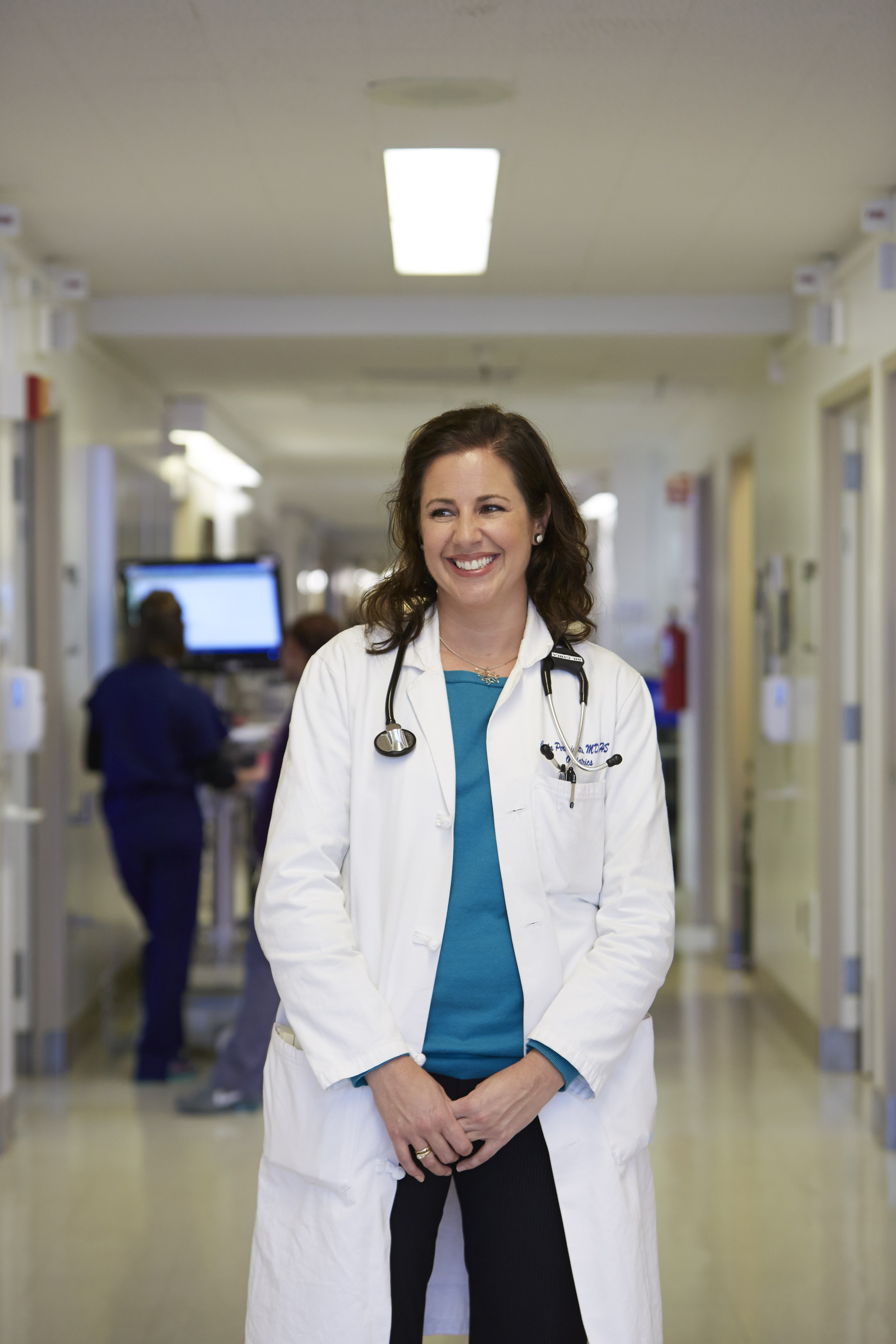 Dr. Carla Perissinotto is an Assistant Clinical Professor in the Division of Geriatrics, Department of Medicine. (Courtesy of UCSF, SF General Hospital)