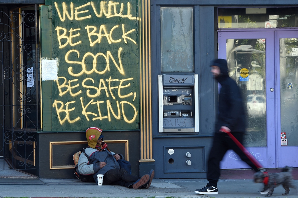 San Francisco Quick To Fight COVID-19, Slow To Help Homeless ...