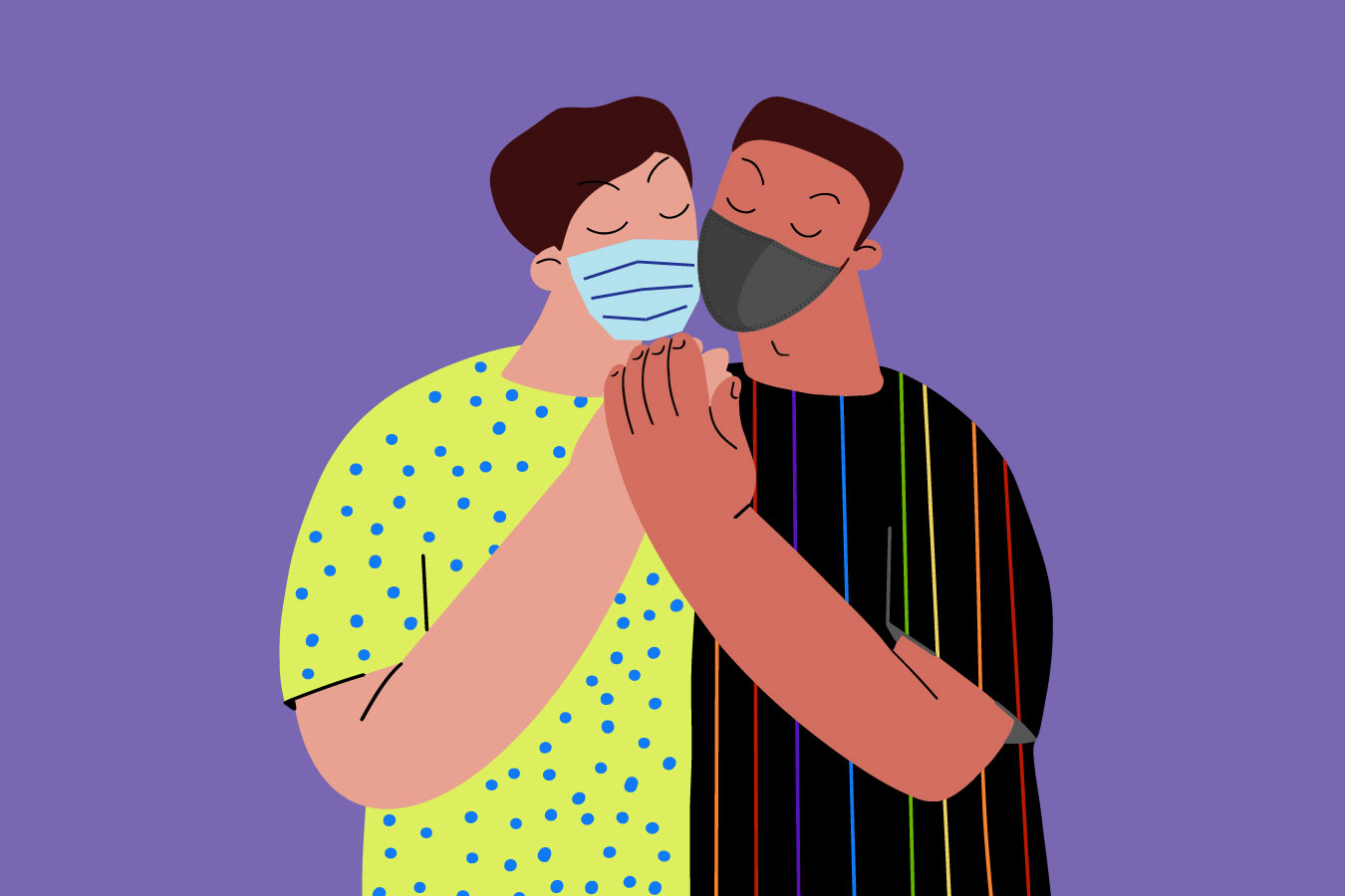 Sex In The Time Of COVID: Gay Men Begin To Embrace A 'New Normal' | California Healthline