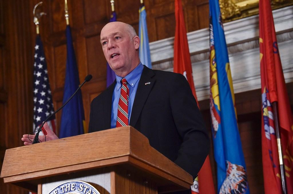 montana governor delivers speech